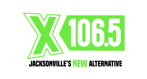 X106.5 - Jacksonville's New Alternative Logo