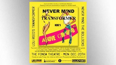 Dave Navarro & Billy Idol guitarist Billy Morrison announce return of Above Ground benefit concert