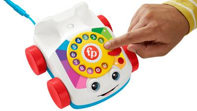 Rrrrrriiiinnnngggg: Fisher-Price's iconic toy telephone now makes, receives real phone calls